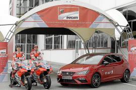 El León Cupra, nuevo coche oficial del equipo Ducati