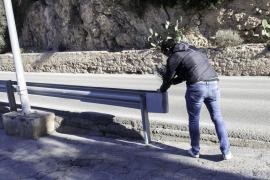 Un motociclista de 30 años pierde la vida en Santa Eulària tras salirse de la calzada