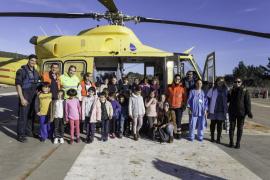 Los escolares del CEIP de Jesús se acercan a las emergencias sanitarias