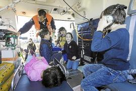 Los escolares del colegio de Jesús se acercan a las emergencias sanitarias