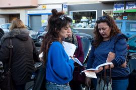 Centenares de personas se examinan de catalán en el IES Sa Colomina