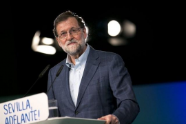 """Rajoy dice que """"hará todo lo posible"""" para que se cumpla la ley y no sea investido Puigdemont"""