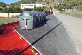 Vila finaliza las obras de la vía peatonal del camino de cas Mut