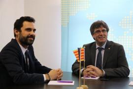 """Puigdemont sobre la investidura: """"Hay muchas posibilidades. La ideal es la presencial"""""""