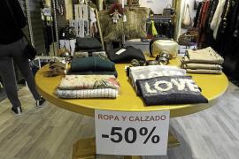 El pequeño comercio de Ibiza tropieza en el primer mes de rebajas