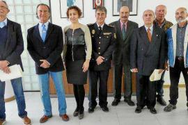 La Policía Nacional homenajea a los agentes jubilados en 2017