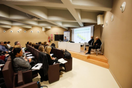Reunión en la UIB con los responsables educativos de las Pitiusas