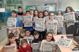 El CEIP Guillem de Montgrí visita Periódico de Ibiza y Formentera