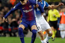 Piqué genera comentarios por su «Espanyol de Cornellà»