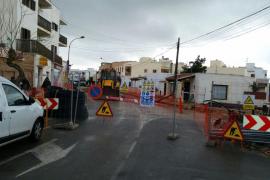 Formentera cerrará al tráfico la calle Guillem de Montgrí a partir del 29 de enero