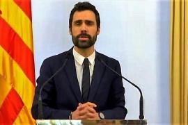 """Torrent ve un """"fraude de ley"""" vetar a Puigdemont y lo lleva a los servicios jurídicos"""