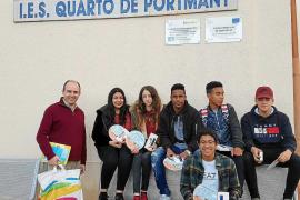 Alumnos del IES Quartó de Portmany ganan el concurso 'Amuse-toi en français' de Balears