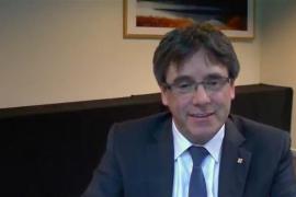 """Puigdemont: """"Hasta el TC ha rechazado el fraude de ley que pretendía la Moncloa"""""""