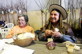 La Cooperativa Agrícola de Sant Antoni acerca el mundo rural payés a la ciudad (Fotos: Daniel Espinosa)