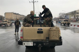 Once soldados muertos por un atentado de Estado Islámico contra una academia militar de Kabul