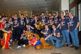 Los campeones de Europa llegan a Madrid