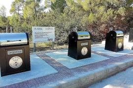 Sant Joan instala contenedores soterrados en Portinatx y Sant Miquel