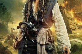 """Póster de """"Piratas del Caribe: En mareas misteriosas"""""""