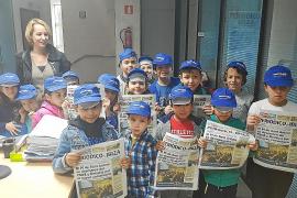 Los alumnos del CEIP Sant Antoni se acercan al periodismo