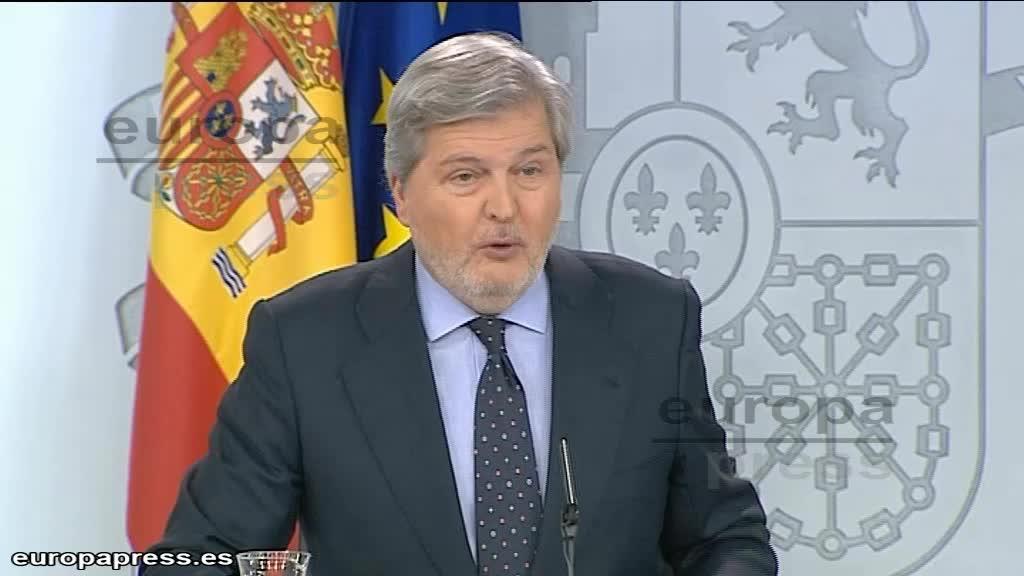 """El Gobierno pide a Torrent """"buscar soluciones"""" y se guiará por el informe del Parlament sobre los plazos"""