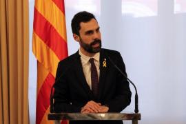 """Torrent dice que no han """"sacrificado"""" a Puigdemont y reitera que es el único candidato"""