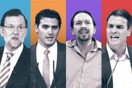 Ciudadanos supera a Podemos y se posiciona como tercera fuerza política