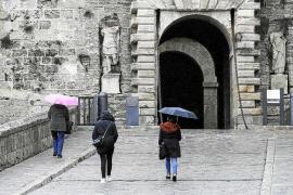 La lluvia remitirá a partir de mañana en las Pitiusas