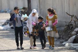 UNICEF denuncia que la violencia ha dejado a 750.000 niños en Mosul sin acceso a servicios sanitarios básicos