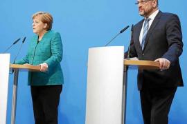 Merkel y Schulz alcanzan un acuerdo para reeditar la gran coalición en Alemania