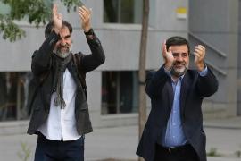 """Cuixart dijo al juez que en Cataluña debe haber """"un gobierno que gobierne"""" y rechazó repetir un referéndum como el 1-O"""