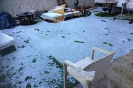 La nieve en Ibiza, en imágenes