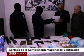 Francia entrega a España miles de efectos, documentos y más de 300 armas incautadas a ETA en los últimos 20 años