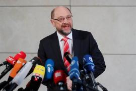 Schulz cede a la presión en su partido y renuncia a ser ministro de Exteriores de Merkel