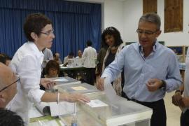 JOAN COMES, CANDIDAT D'INDEPENDENTS DE SA POBLA VOTANT