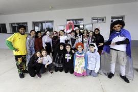 La lluvia obliga a suspender las rúas de carnaval de los colegios de la isla