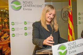 La diputada Tania Marí, nueva presidenta de Nuevas Generaciones del PP de Ibiza