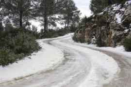 Sant Joan registró el sábado una temperatura mínima de -1,5º
