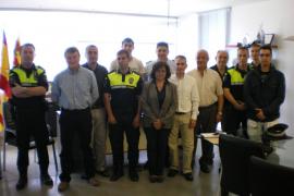 Cinco agentes turísticos en prácticas se suman a la Policía Local de Sant Antoni