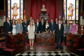 Investidura de Iser como alcalde de Palma