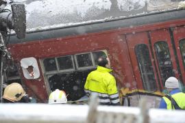 Al menos veinte muertos en un accidente ferroviario cerca de Bruselas