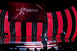 La retransmisión de la XXIV edición de los Goya, la más vista de la historia