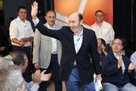 Rubalcaba se estrena como candidato con un anuncio de MIR para el profesorado