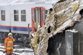 Accidente de tren en Halle