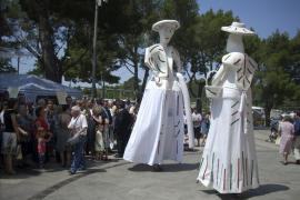 MARRATXI. FIESTAS PUEBLOS. AL AROMA DE ALBAHACA SE HACE SENTIR EN LA ROMERIA DE SANT MARÇAL.