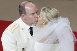 Alberto II y Charlene se vuelven a dar el «sí» en su boda religiosa