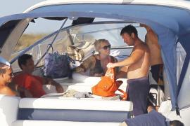 Moyà y Cerezuela de vacaciones familiares en Eivissa