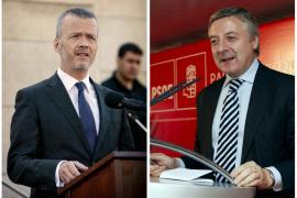 Camacho, ministro de Interior, y Blanco, portavoz del Gobierno