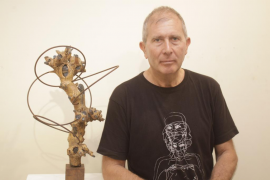 Pepe Calvo inicia hoy el recorrido de su proyecto escultórico 'Taozen'