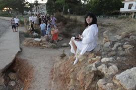 La Asociación Rasar se vuelca en la limpieza del acueducto de s'Argamassa