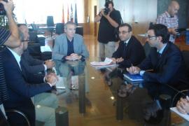 Vicent Serra se compromete a colaborar para que el Govern consiga un equilibrio presupuestario